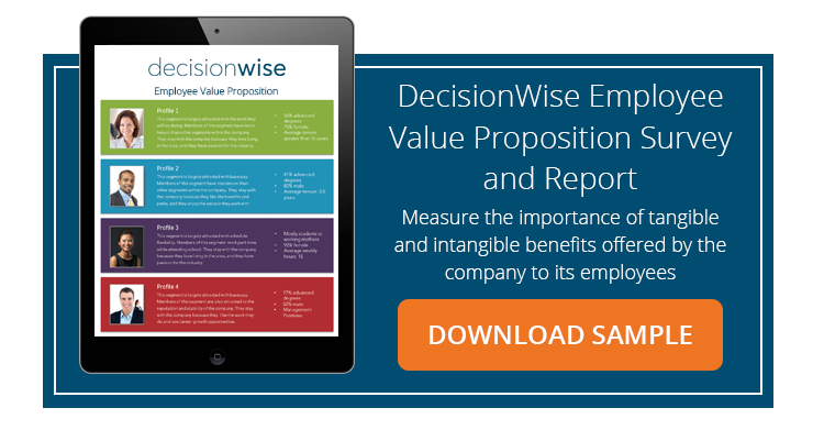 DecisionWise Employee Value Proposition